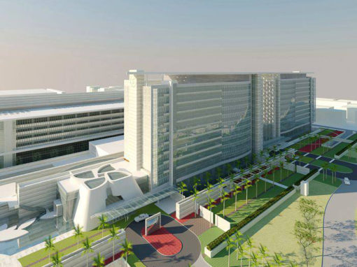 King Fahd Medical City, Proton Therapy Building, Riyadh, Saudi Arabia