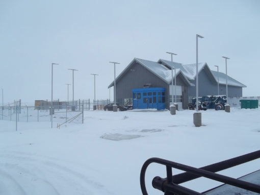 US Border Crossing, LPOE Project, Maida, North Dakota